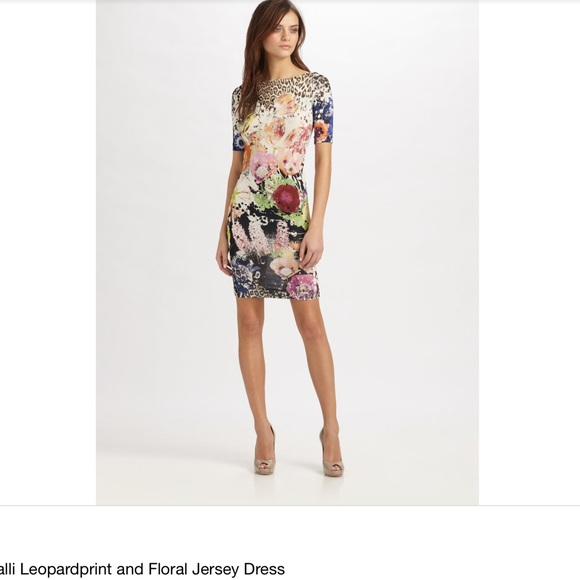 3ff1b98826c26 Just Cavalli Dresses & Skirts - Just Cavalli ✨animal print and floral dress  🌸